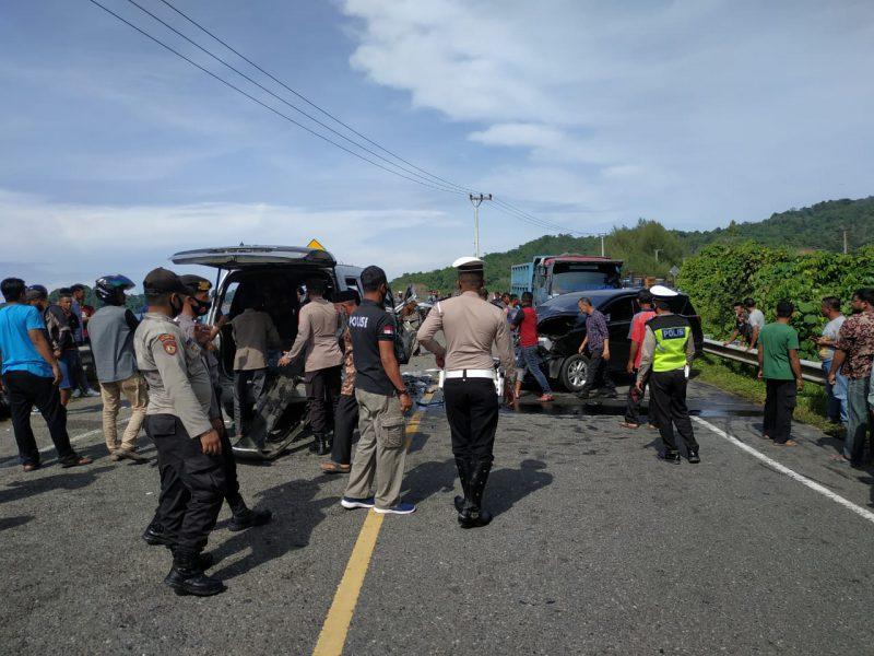 Tabrakan Maut di Aceh Jaya, Dua Meninggal