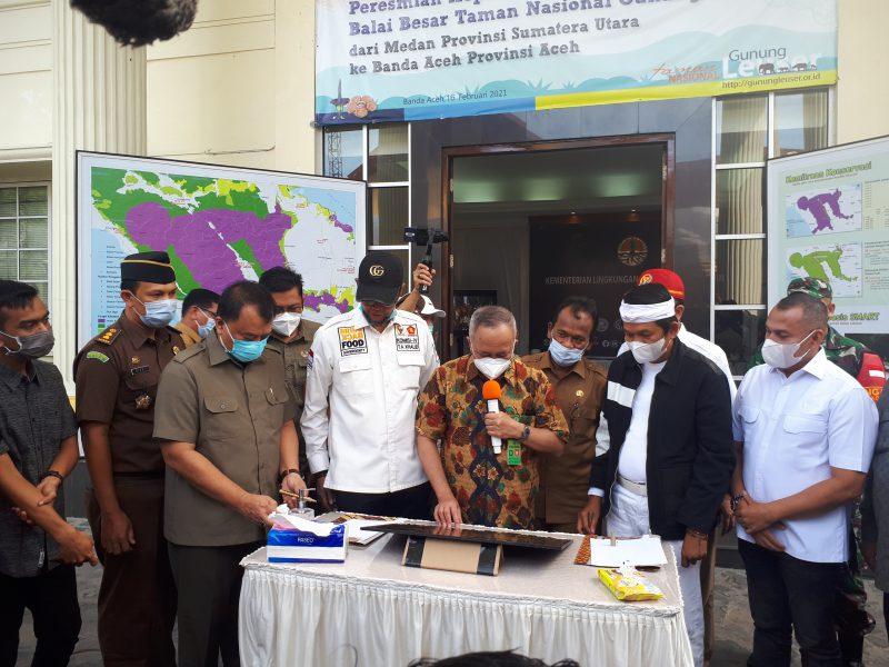 BBNTGL Resmi Berkantor di Aceh
