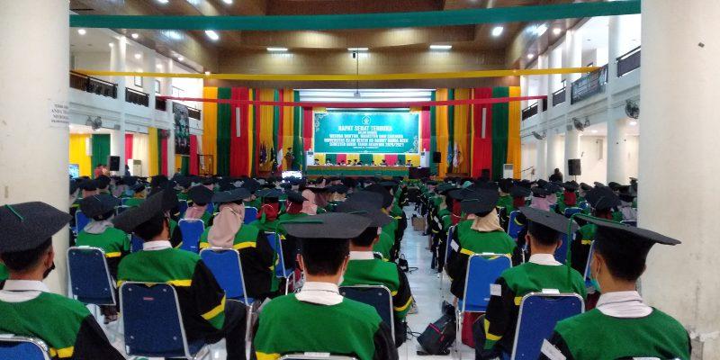 UIN Ar-Raniry Wisudakan 1.428 Lulusan Secara Daring dan Luring
