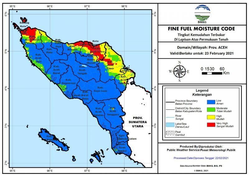 BMKG Ingatkan Hujan Hingga Potensi Kebakaran Bisa Terjadi di Aceh