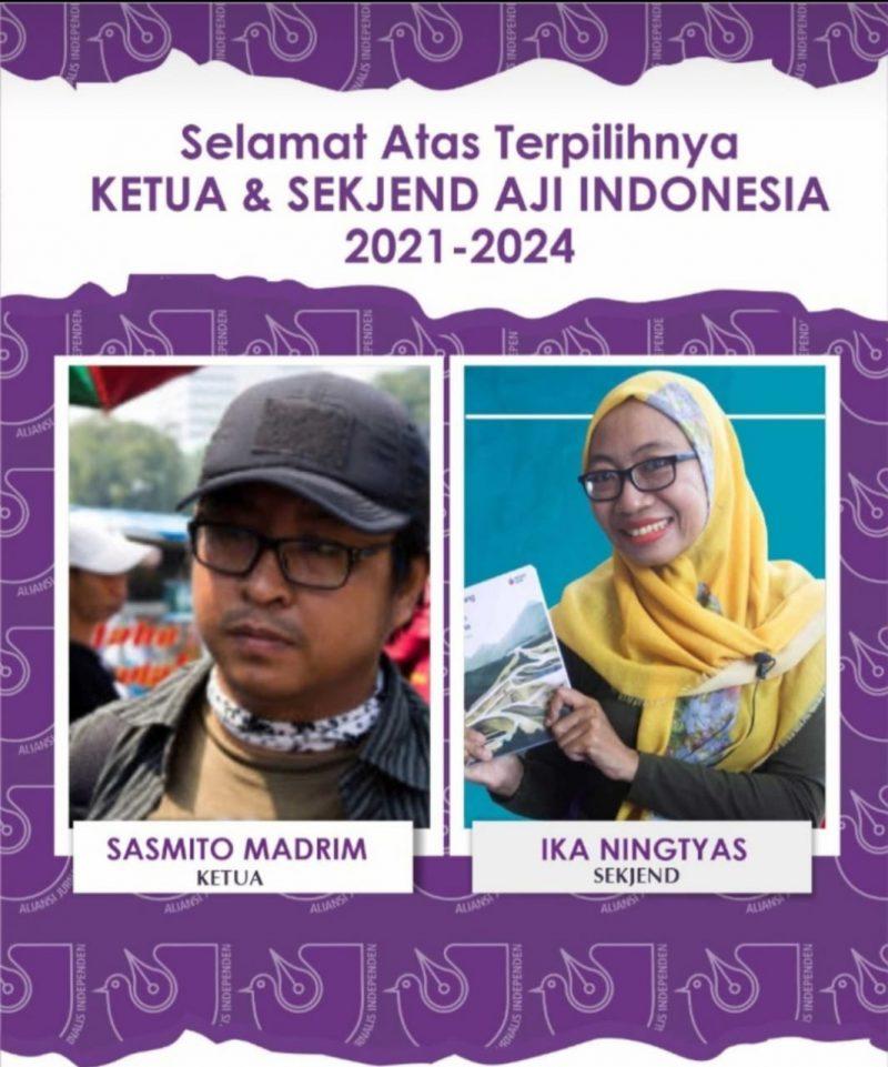 Sismito-Ika Pimpin AJI 3 Tahun Kedepan, Tantangannya Rezim Otoriter